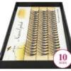 Kępki Żółte Rzęsy Nesura 10mm
